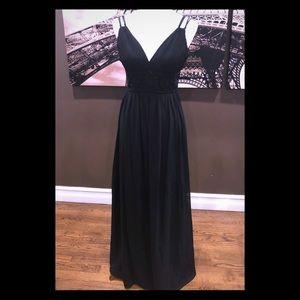 Dresses & Skirts - Black floor length gown
